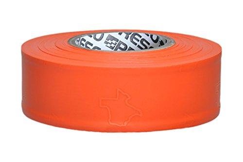 Presco Texas Roll Flagging Tape: 1-3/16 in. x 300 ft. (Orange)