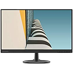 Lenovo C24-25 Monitor - Display 23.8´´ FullHD (1920x1080, VA, Bordi Ultrasottili, FreeSync, 4ms, 75Hz, Cavo VGA, Input HDMI + VGA) - Black