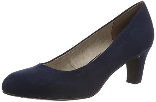 Tamaris Damen 1-1-22418-22 805 Pumps Blau (NAVY 805), 37 EU
