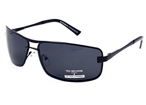 TED BROWNE - Gafas de sol - para hombre Negro Negro (XL