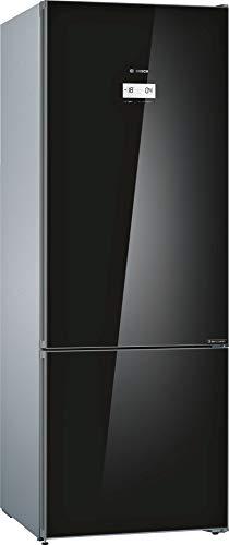 Bosch 559 L 2 Star Inverter Frost Free Double Door Refrigerator (Series 6 KGN56LB41I, Black, Bottom Freezer)