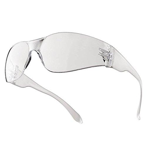 Tector Desperado Schutzbrille | EN 166 zertifiziert | klare Scheibe | klarer Bügel ✔ kratzfest ✔ leicht ✔ Gute Qualität ✔ modernes Design