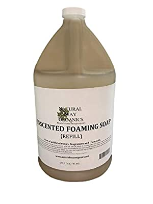Natural Way Organics Unscented Foaming Hand Soap Refill Gallon 128oz.