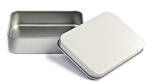 Spielkartenbox aus Metall (Metalldose/ Metallbox für Spielkarten), Spielkartendose, Mengenrabatt verfügbar (1x Box)