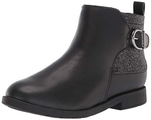 Stride Rite girls Indy Fashion Boot, Black, 12 Wide Little Kid US