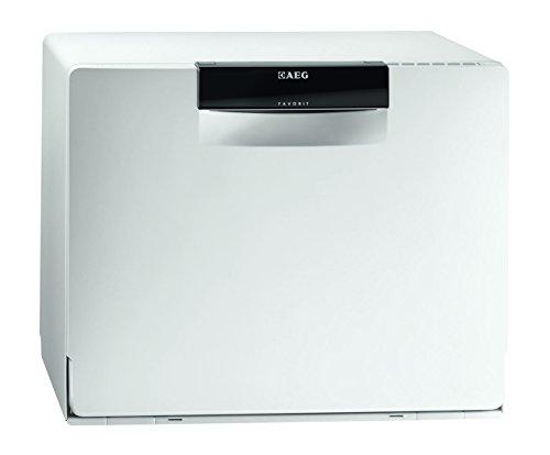 AEG FAVORIT F57202W0 Lavavajillas/A / 188 kWh/año / 6 MGD / 2100 L/año/Extra silencioso/Programa automático/Blanco