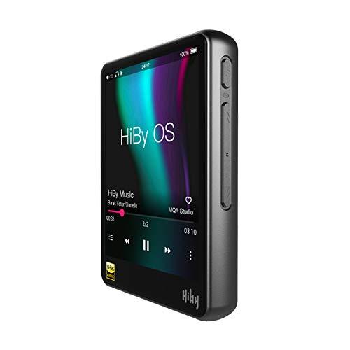 YaGFeng Reproductor de Música de Transmisión en Red HiBy R3Pro Hires Onda de Audio Digital Sin Pérdidas MQA 5Gwifi LDAC DSD DSD DSD Transmisión en Red Dual ES9218P,Silver
