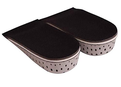 3 Paare (1cm + 2cm + 3cm) Höhe erhöhen beste Schuhe Einlegesohlen Heels Einsätze
