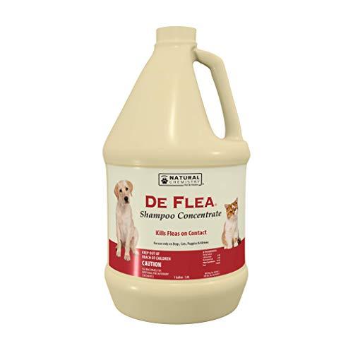 Natural Chemistry De Flea Concentrate Flea and Tick Shampoo, 1-Gallon