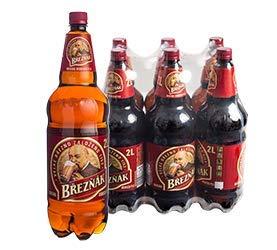 Breznak Maxi 6 x 2,0l Flasche inkl. 1,50€ DPG Pfand - originaler Bier aus Tschechien EINWEG