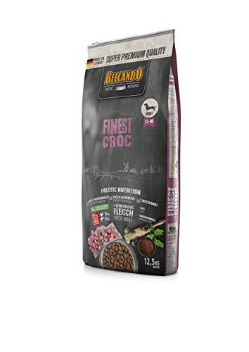 Belcando Finest Croc Hundefutter   Trockenfutter für kleine & mittlere Hunde   Alleinfuttermittel für ausgewachsene Hunde ab 1 Jahr (12,5 kg)