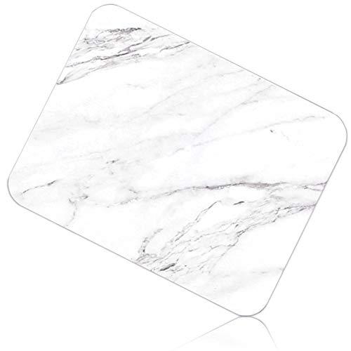 【検査済み】 アイリスプラザ バスマット 珪藻土 大理石風 吸水 速乾 清潔 消臭 防カビ 抗菌 洗濯不要 M(45×35) 珪藻土マット 幅45×奥35×高0.9cm BMD-4535U