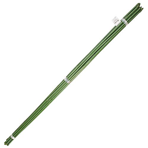 Tutor Varilla Bambú Plastificado Ø 12-14 Mm. X 180 Cm. (Paquete 10 Unidades)