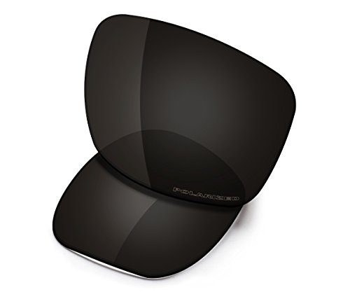 Saucer Lentes de repuesto para gafas de sol Oakley Jupiter Carbon OO9220, (High Defense - Carbon Black Polarized), Talla única