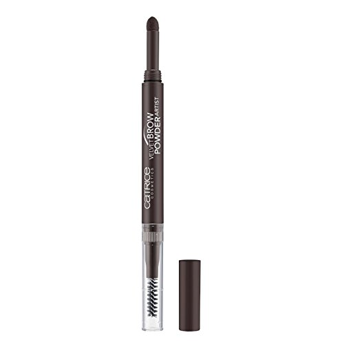 Catrice - Augenbrauenstift - Velvet Brow Powder Artist 030 - Dark Brow(n) Is The New Black