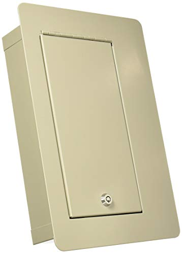 Buddy Products Economy Wall Safe, Steel, 3.75 x 9 x 9.375 Inches, Putty (3105-6)