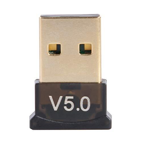 Adaptador USB Bluetooth, adaptador Bluetooth 5.0, teclado de ratón Bluetooth 5.0, receptor de audio inalámbrico, adaptador de audio Bluetooth para PC, ratón, teclado, ordenador