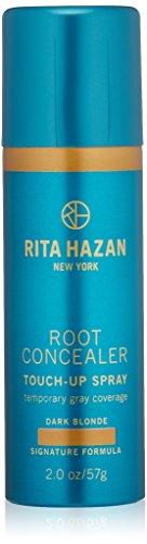 Rita Hazan Root Concealer Touch Up Spray, Dark Blonde Cover up Gray, 2 oz