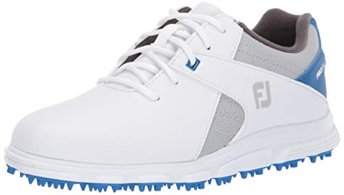 Footjoy PRO SL Golfschuh, Blanco-Azul, 35 EU