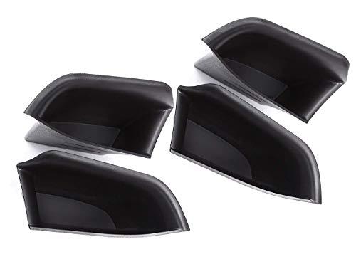 Accessoire Auto intérieur véhicule, pour 5 série G30 2018, Voiture intérieure Armest Organizer côté téléphone conteneurs boîte Rangement Plastique ABS Noire Porte Avant arrière
