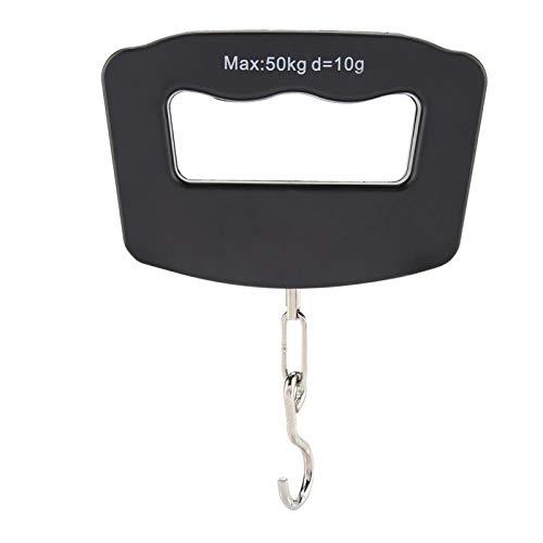 Báscula de equipaje portátil - báscula Máx. Cargue la balanza portátil del gancho de la balanza colgante electrónica digital de 50Kg LCD Digital(1)