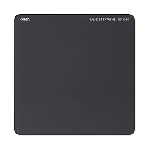 Cokin Nuances Extreme - Filtro Full HD Cuadrado con reducción 10 Pasos, Color Negro