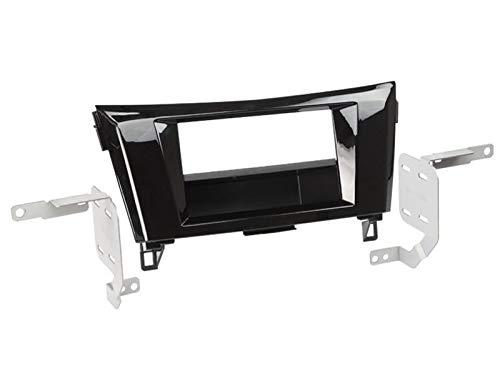 ADNAuto 62693 Kit 2Din -Acenta-Ap14 avec Vide-Poche-Noir Brillant