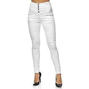 Elara Skinny High Waist Chunkyrayan – Jeans Elasticizzati da Donna