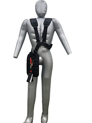 Shinegro Double Shoulder Strap Belt Harness with Connector for Weed Eater String Trimmer Brush Cutter Grass Cutter Weedwacker Telescoping Spray Pressure Washer
