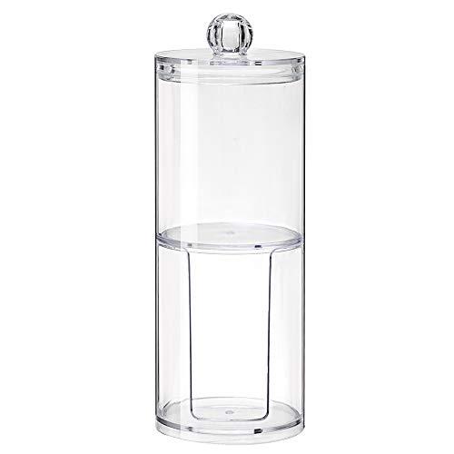 Magiin 1 pz. Cosmetico Organizer Stoccaggio Acrilico Creativo per Cuscinetto di Cotone Trucco Organizzatore Trasparente