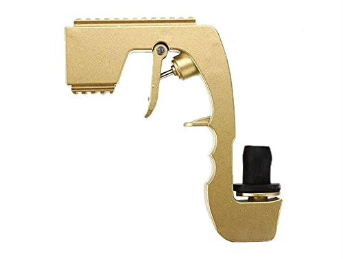 KTZAJO Pistola rociadora de vino de champán, botella de cerveza, pistola de pulverización duradera, aleación de zinc, tapón Pop it herramientas de barra de cocina (color: dorado)