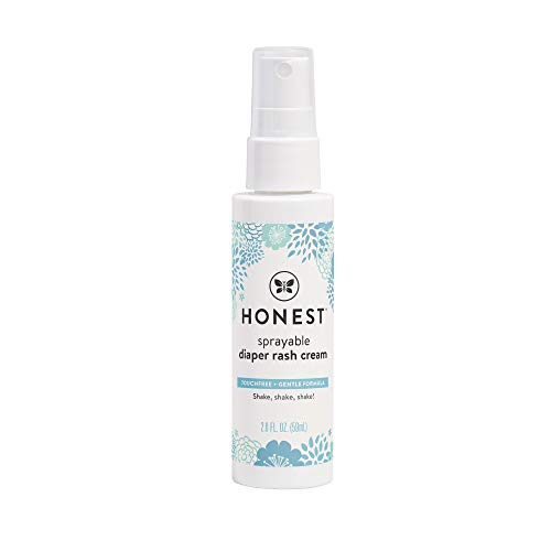 HONEST Company Sprayable Diaper Rash Cream, 2 Fl Oz