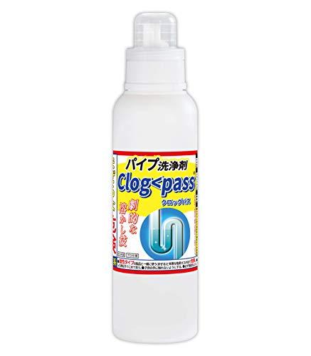 パイプ洗浄剤 クロッグパス(Clog pass) 600g 業務用 液タイプ PP-C500