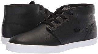 [ラコステ] メンズ 男性用 シューズ 靴 スニーカー 運動靴 Asparta 318 1 P - Black/White [並行輸入品]