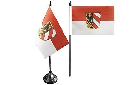 Flaggenfritze® Tischflagge Deutschland Stadt Nürnberg - 10 x 15 cm