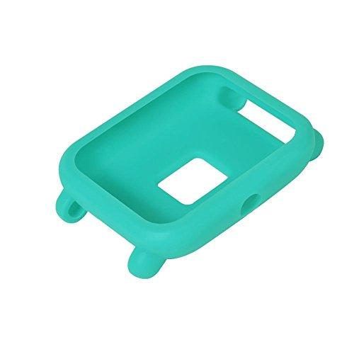 Fancyland beschermhoes voor smartwatch, klein, gekleurd, zacht voor de huid, Xiaomi Huami Amazfit Bip Youth horloge, eendenblauw