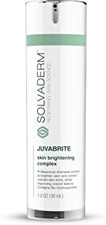 Solvaderm's Juvabrite Age Spot and Pigment Brightening Cream To Reduces The Appearance Of Age Spots And All Other Skin Dis...