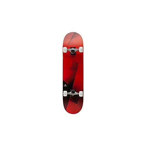 FIREFLY Skateboard Blank/TV, schwarz/rot