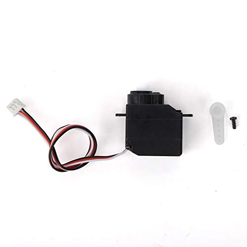 Drfeify RC Servo, Remote Control Helicopter Servo Steering Gear Upgrade Accessory Part Compatible with Wltoys V950