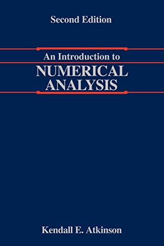 Intro To Numerical Analysis 2e