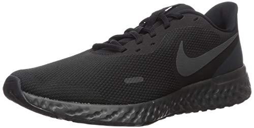 Nike Men's Revolution 5 Wide Running Shoe, Black/Anthracite, 8 4E US