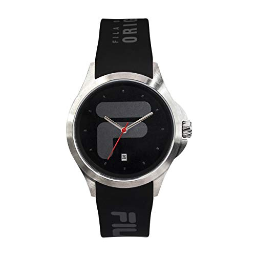 FILA Mens Watches - Womens Watches - Watches for Women - Watches for Men - Mens Watches - Analog Watch - Wrist Watch - Sports Watch Men - Fila Watches for Men - Black and White Fila Watch