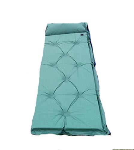 Viner Dikke buitenlucht Automatische opblaasbare matraszak Camping Pad Picknickmat Zitting Schuim Waterdicht Kan worden gesplitst Matras, groen