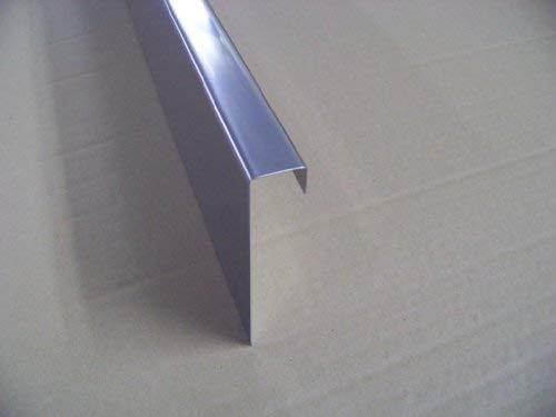 Rasenkante aus Edelstahl, 13cm hoch, 5er Set, Gesamtlänge 6,10m, Kiesleiste