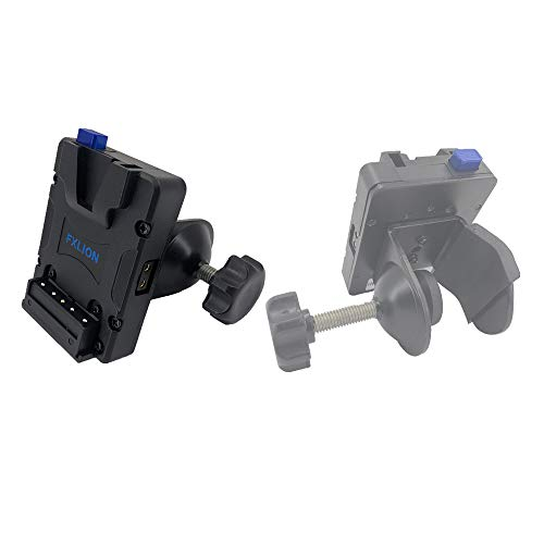 SONGING FXLION Nano L04 V-Lock/V-Mount Plate with with U-Type Clip, fit for Any Size Rod