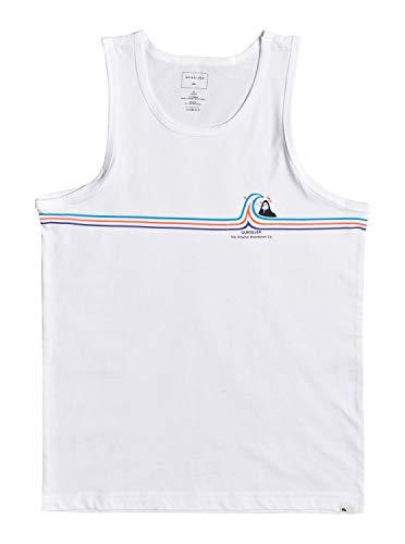 Quiksilver™ Stone Cold Classic - T-Shirt - Garçon Enfant, Blanc (white), 10 ans