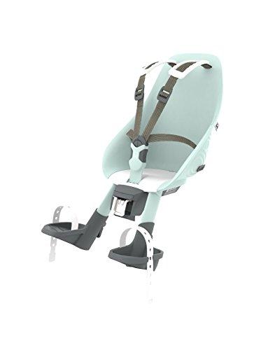 Urban Iki Front Seat Complete, Seggiolino da Bicicletta per Bambini. Unisex, Aotake Blu Menta/Bianco Shinju, Taglia unica
