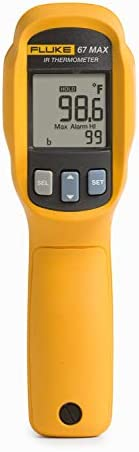 Fluke 67 MAX Clinical Non Contact Digital Infrared Thermometer Human Forehead Scan with Built product image
