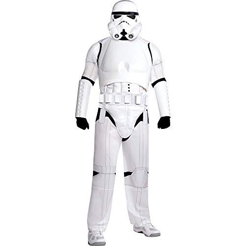 Costumes USA Star Wars Stormtrooper Costume Deluxe for Adults, Plus Size, Includes Jumpsuit, Mask, Chest Piece and More