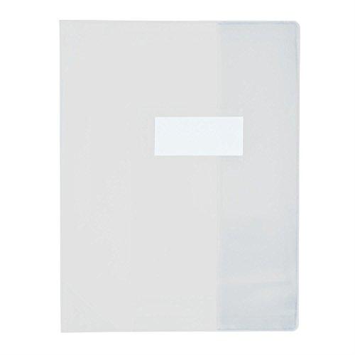 ELBA 5Stück Buchschoner PVC 150Strong Line A4(21x 29,7cm) transparent farblos